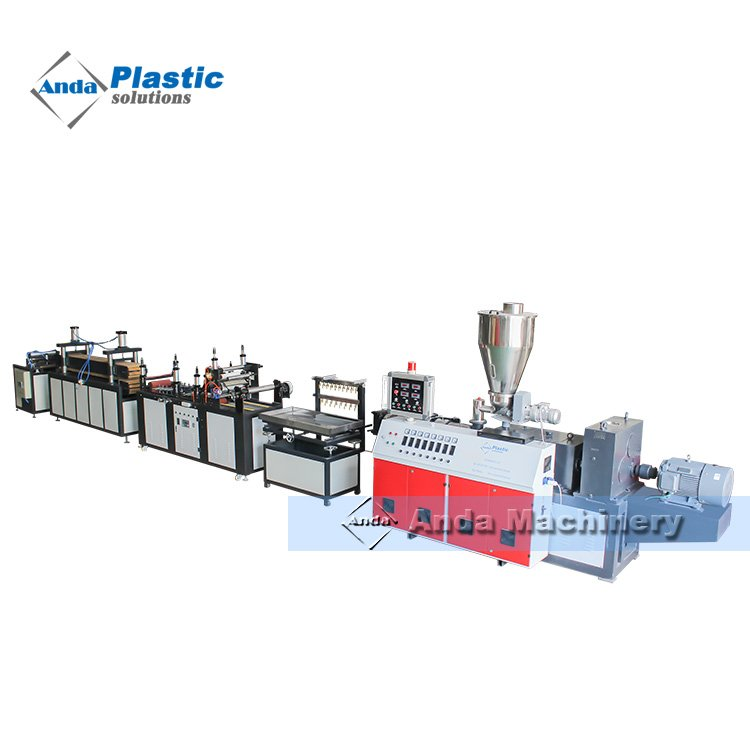PVC wall and ceiling panel production/extrusion line