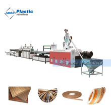 PVC edge band tape extrusion line manufacturer