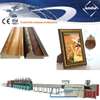 PS photo frame moulding making machine