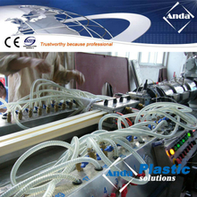 PVC cable trunking making machine