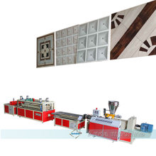 PVC ceiling tiles manufacturing line