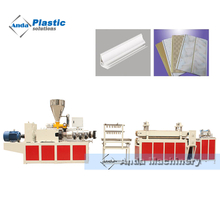 PVC ceiling production line with two color printing machine