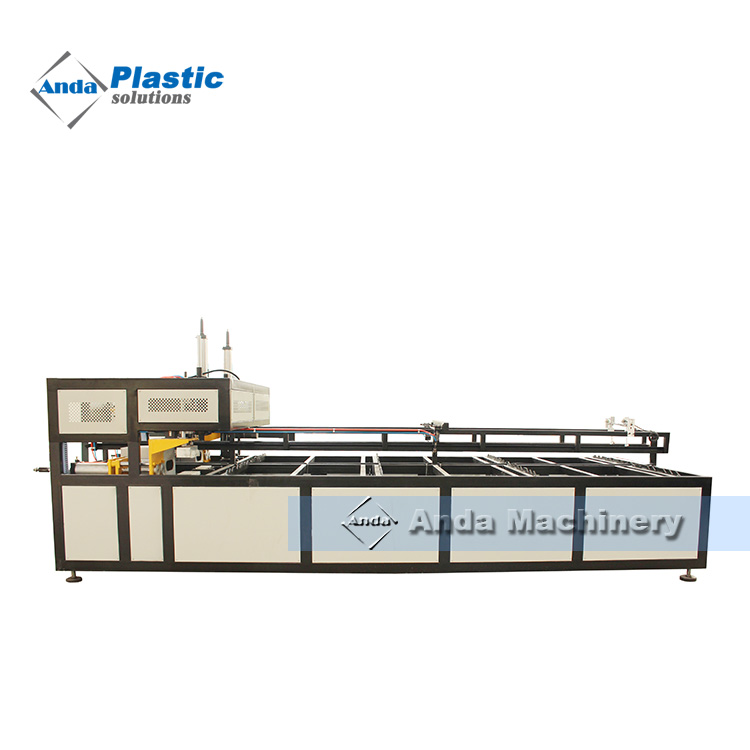 Plastic PVC pipe belling machine / socket making machine manufacturer