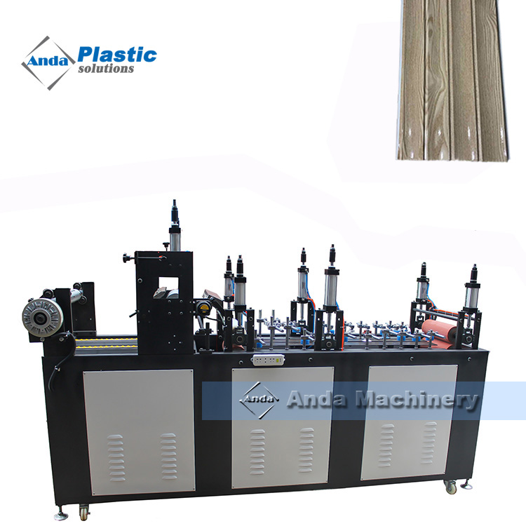 pvc lamination machine for wall panel