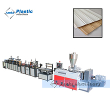 wpc and pvc decorative wall door panel production line