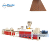 PVC ceiling double screw extruder machine