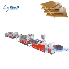 Pvc Twin Extruder Foam Sheet Board Production Line/Advertisement Poster Board Making Machine
