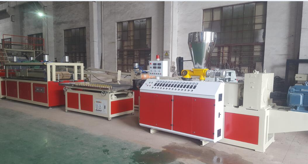PVC ceiling tile machine for Vietnam