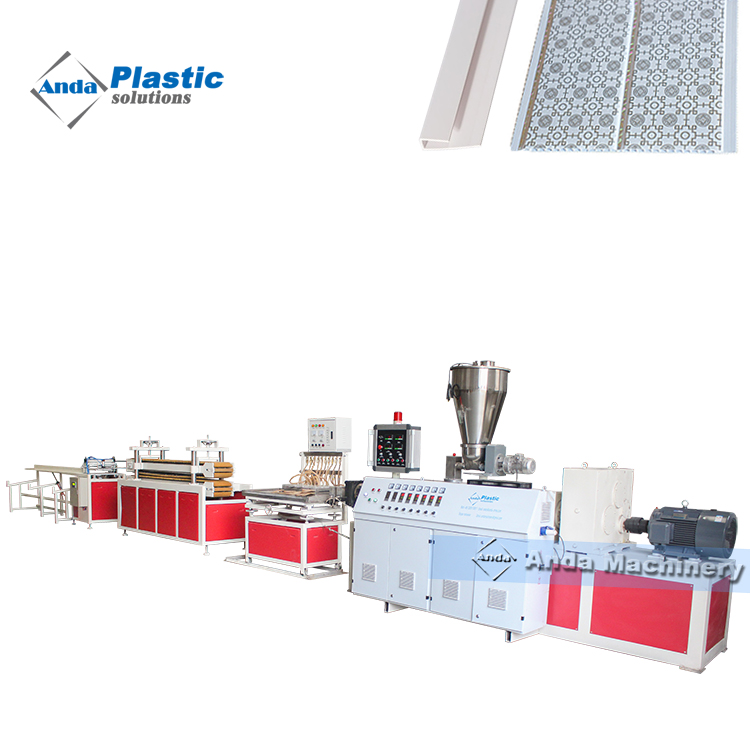 Automatic PVC Ceiling Panel Production Line With Turnkey Solution