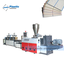 pvc ceiling panel making machines manufacturer