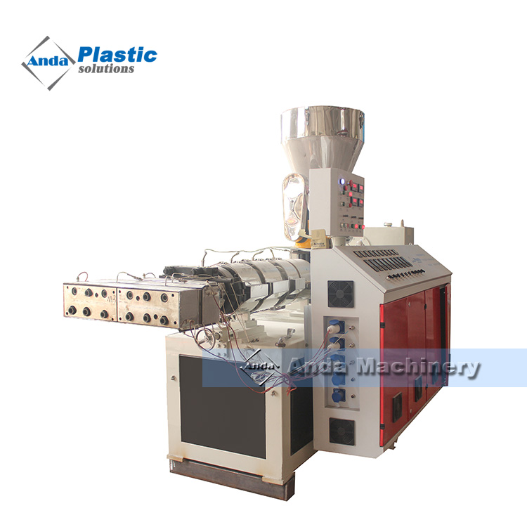double cavity PVC ceiling making machine