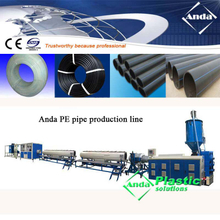 HDPE pipe production line