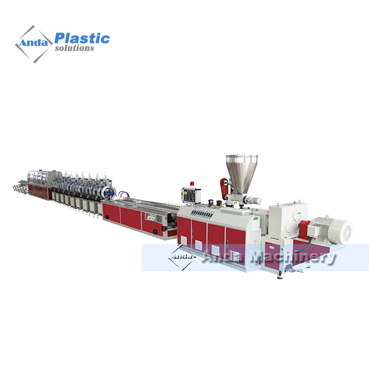 PVC screen door making machine