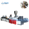 double screw edge band production line