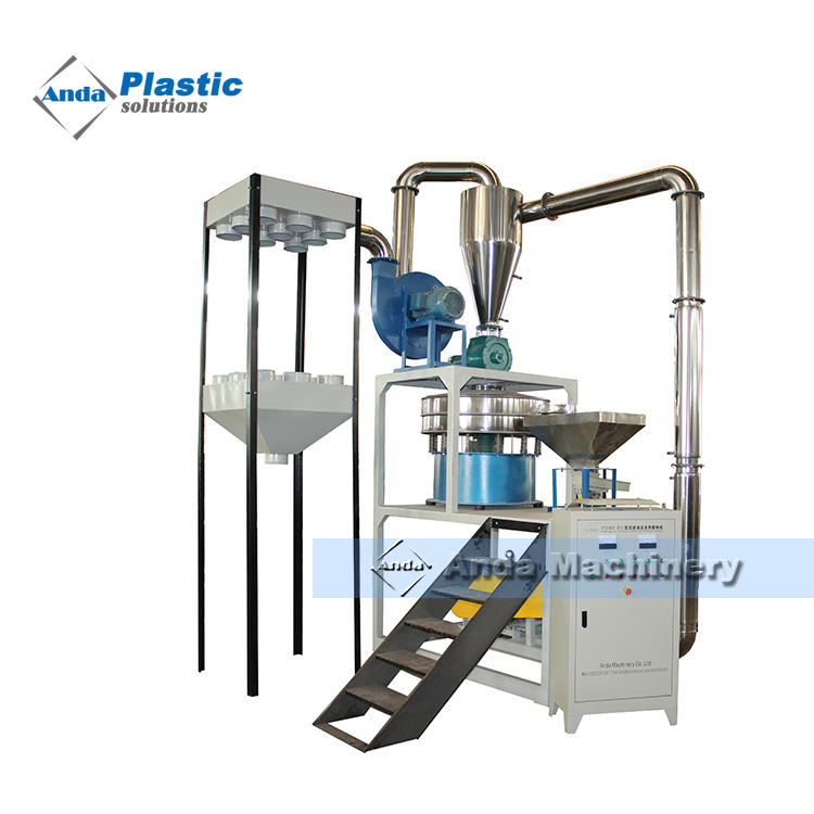 High output Plastic pulverizer for LDPE