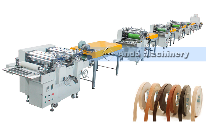 four color PVC edge band printing machine with germany production technic