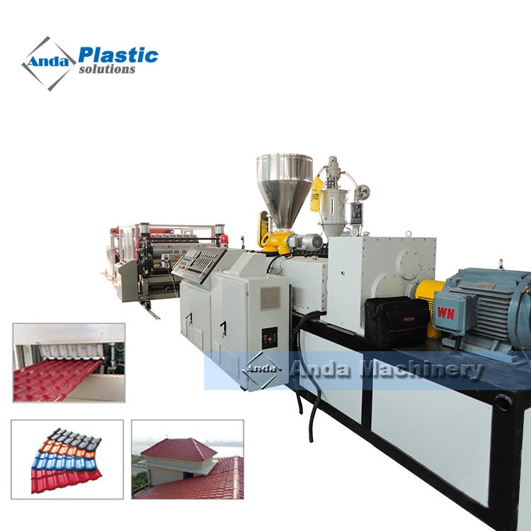 UPVC Roofing Sheet Extrusion Line