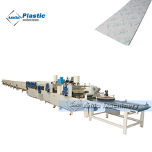 Double colors printing and UV coating machine for pvc ceiling panels