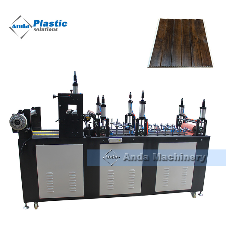 online lamination machine for PVC wall panel
