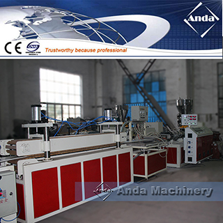Congratulations to the commissioning sucess of the PVC ceiling panel production line for Algeria customer
