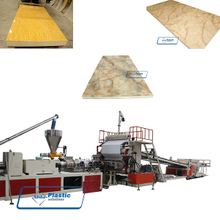 PVC imitation marble sheet production line