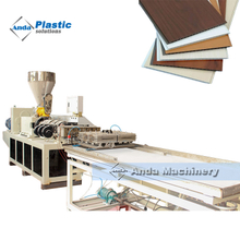 China double cavity pvc ceiling making machine