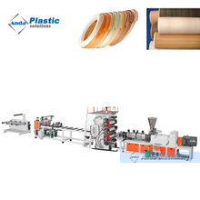 high output PVC edge band production line with cylinder Cooling