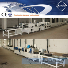 double color printing and UV coating machine for PVC ceiling