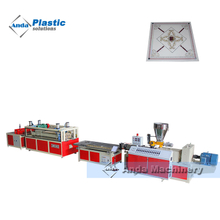 Best PVC gypsum ceiling making machine from china