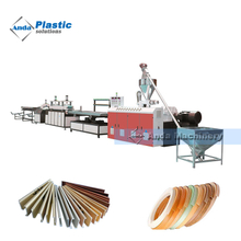 PVC edge band production extrusion line manufacturer
