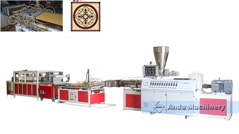 2 by 2 PVC ceiling tile machine trial done before shipping to arifwala, Pakistan